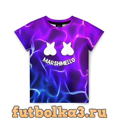 Футболка Marshmello THUNDER детская