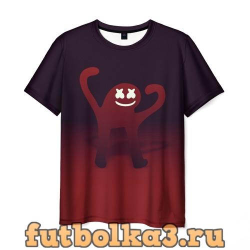 Футболка Marshmello ЪУЪ (Oko) мужская