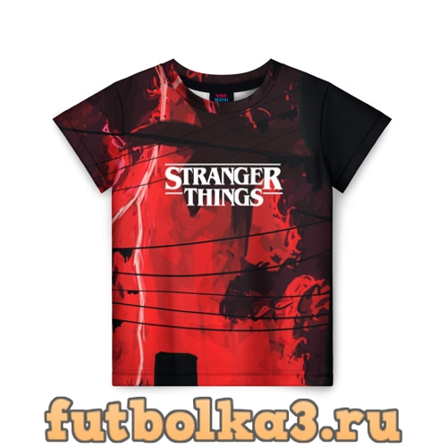 Футболка Очень странные дела 2019 детская