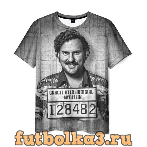 Футболка Пабло Эскобар мужская