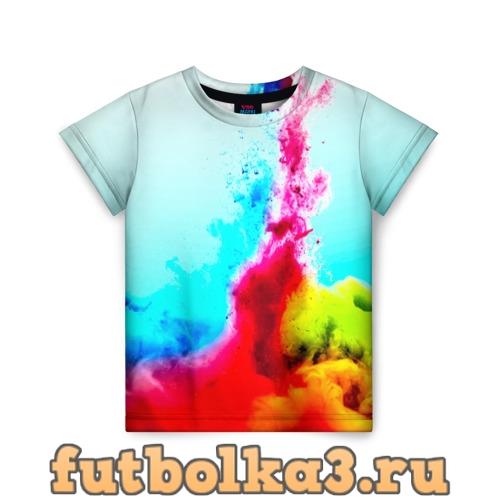 Футболка Палитра красок детская