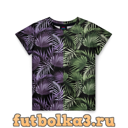 Футболка пальмы детская