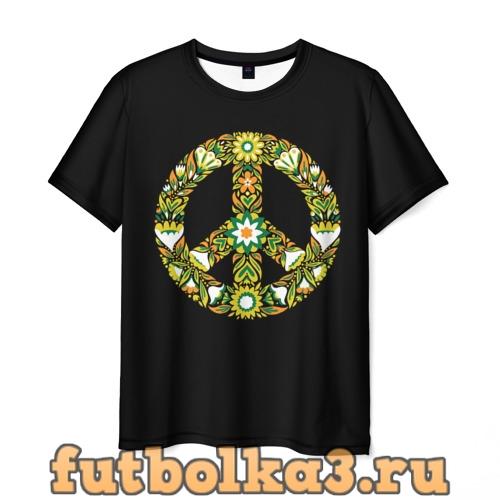 Футболка Пацифист мужская