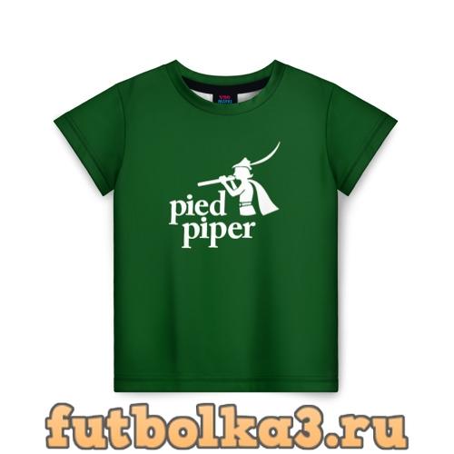 Футболка Пегий дудочник детская