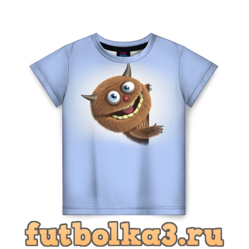 Футболка Плюшевый чертёнок детская
