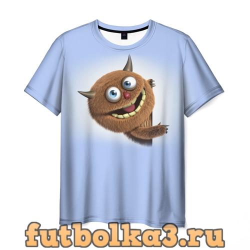 Футболка Плюшевый чертёнок мужская