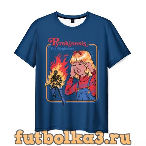 Футболка Pyrokinesis мужская