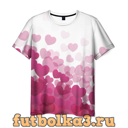 Футболка С Любовью мужская