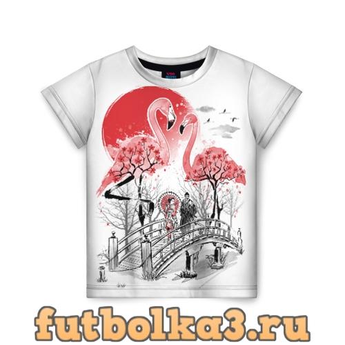 Футболка Сад Фламинго детская