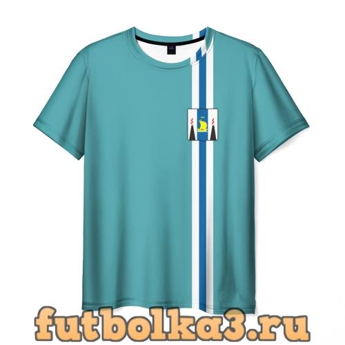 Футболка Сахалинская область мужская