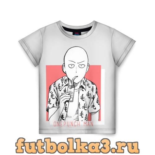 Футболка Saitama (One-Punch Man) Ванпач детская