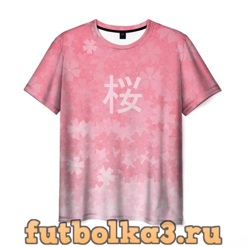 Футболка Сакура мужская