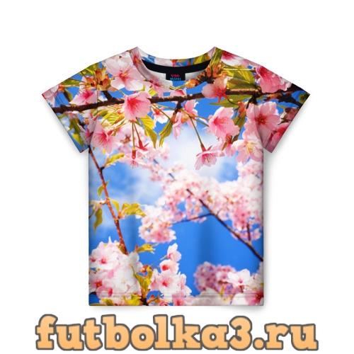 Футболка Сакура детская