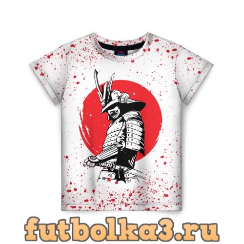 Футболка Самурай в каплях крови (Z) детская