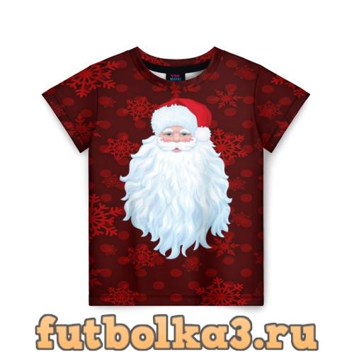 Футболка Санта Клаус детская