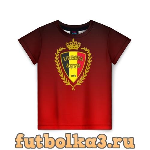 Футболка Сборная Бельгии детская