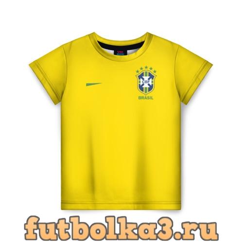 Футболка Сборная Бразилии детская