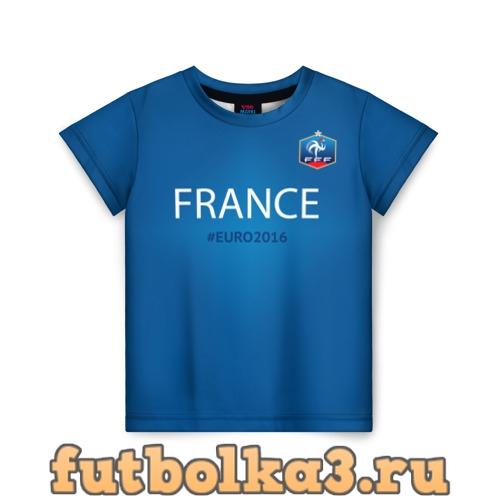 Футболка Сборная Франции 2016 детская