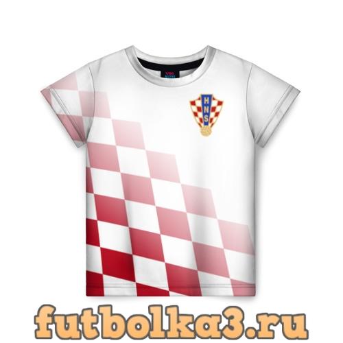 Футболка Сборная Хорватии детская