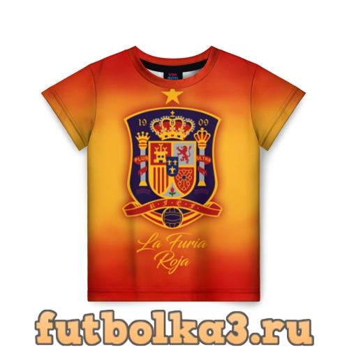 Футболка Сборная Испании детская