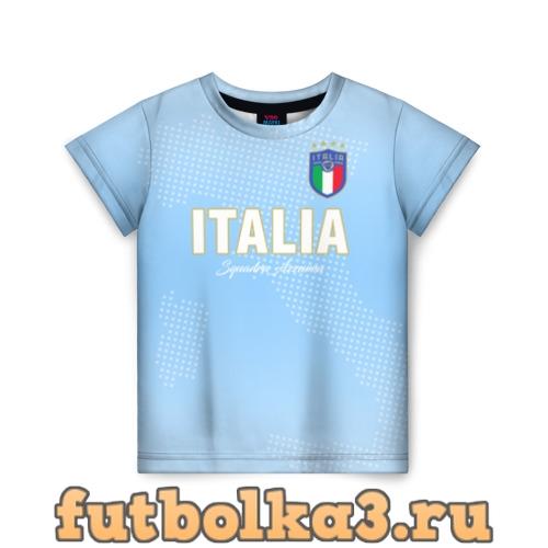 Футболка Сборная Италии детская