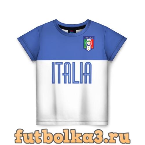Футболка Сборная Италии по футболу детская