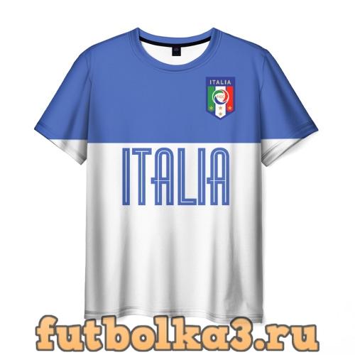 Футболка Сборная Италии по футболу мужская