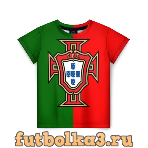 Футболка Сборная Португалии флаг детская
