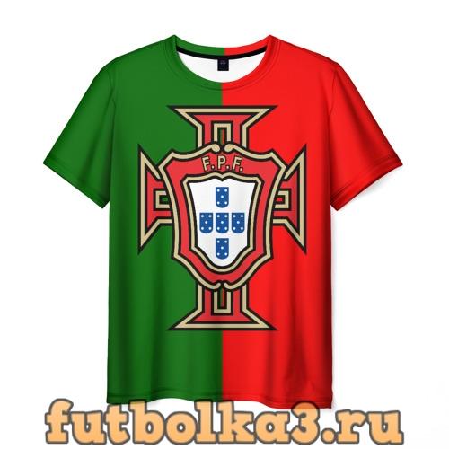 Футболка Сборная Португалии флаг мужская