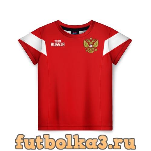 Футболка Сборная России 2018 Акинфеев детская