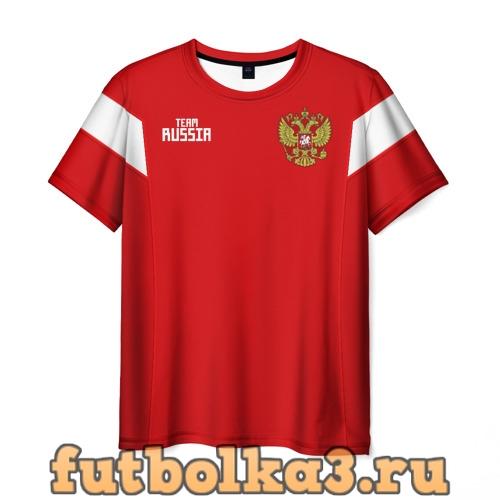 Футболка Сборная России 2018 Акинфеев мужская