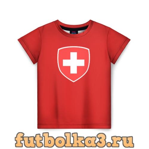 Футболка Сборная Швейцарии детская