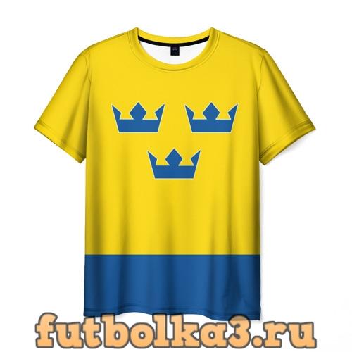 Футболка Сборная Швеции по Хоккею мужская