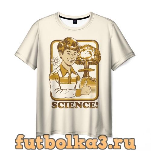 Футболка Science мужская
