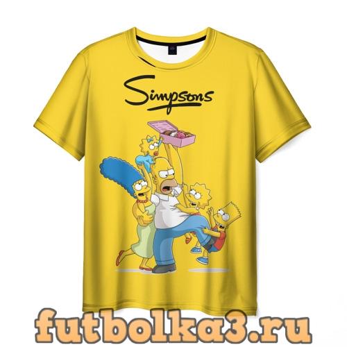 Футболка Симп�оны муж�ка�