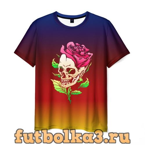 Футболка Skull&Rose мужская