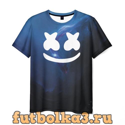 Футболка Space Marshmello мужская