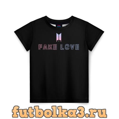 Футболка TEAR BTS детская