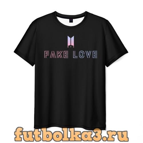Футболка TEAR BTS мужская