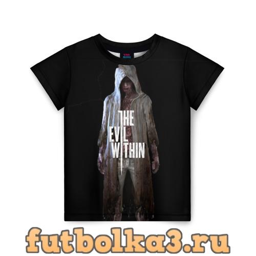 Футболка The evil within детская