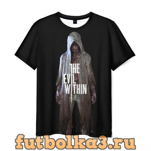 Футболка The evil within мужская