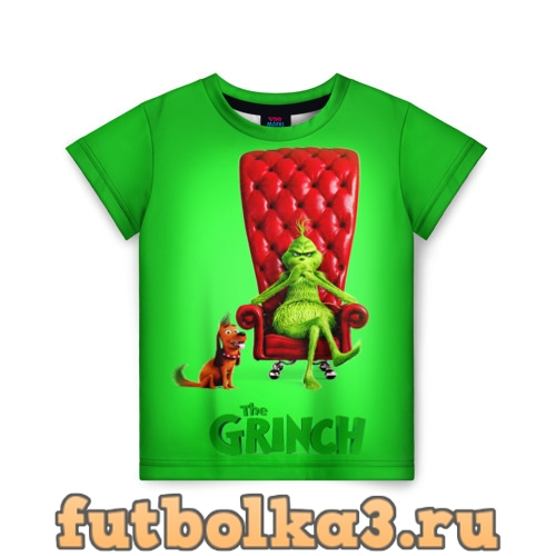 Футболка The Grinch детская