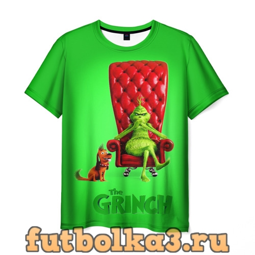 Футболка The Grinch мужская