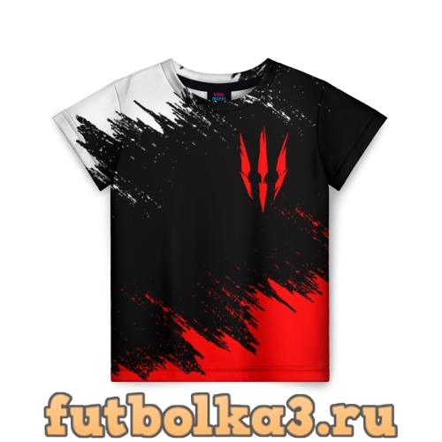 Футболка ВЕДЬМАК 3 / ГЕРАЛЬТ / КОГОТЬ детская