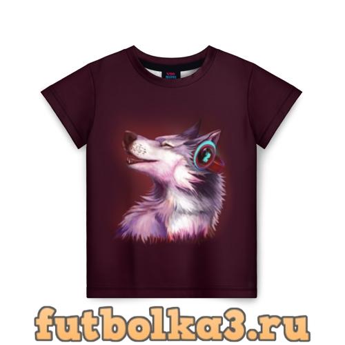 Футболка Волк детская