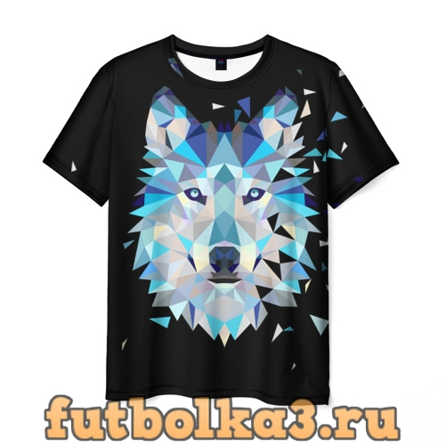 Футболка Волк мужская