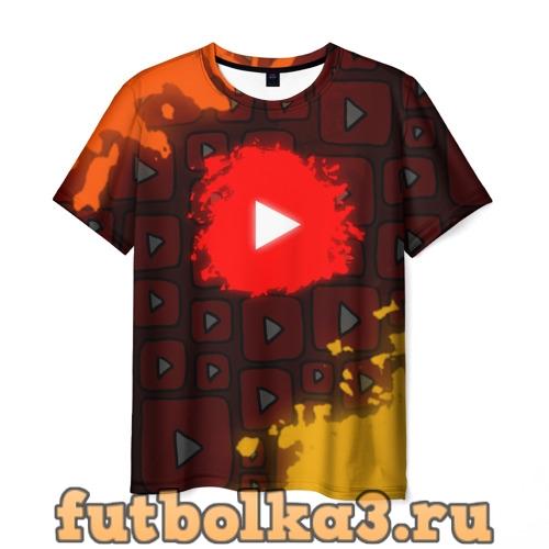 Футболка YouTube  мужская