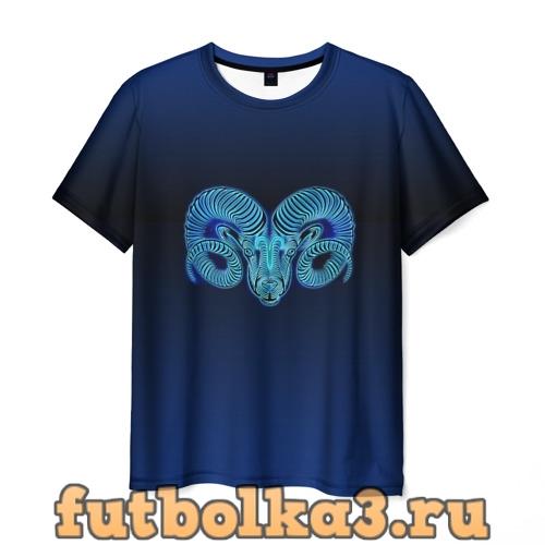 Футболка Знаки Зодиака Овен мужская