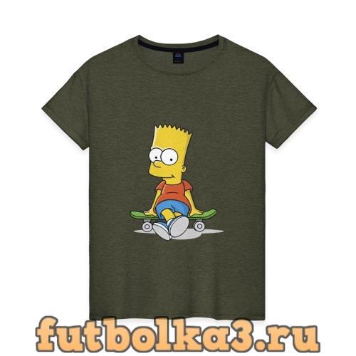 Футболка Барт женская