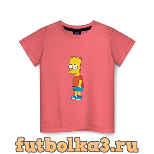Футболка Барт Симпсон детская
